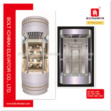 630KG~1000KG Capacity Panoramic Elevator LIft