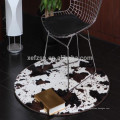 faux fur polyester cowhide rug wholesale