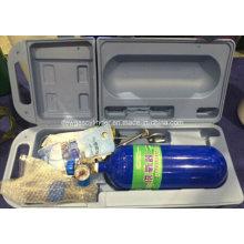Cilindro de oxigênio médico de alta pressão 0.7L