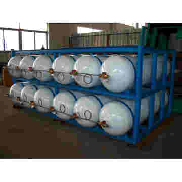 Small CNG Filling Compressor with Cylinder