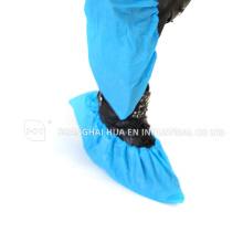 High quality With CE FDA ISO certificated Disposable blue CPE Microporous shoe cover