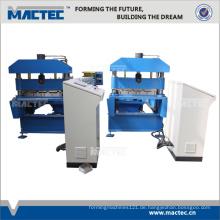 manuelle Metalldachfirstkappen-Rolle, die Maschine bildet