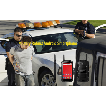 Téléphone mobile Android robuste militaire