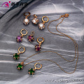 63098 -Xuping Promotional Wholesale Jewelry Copper Alloy Jewelry Set