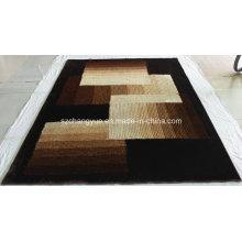 Современные мохнатые ковры из высококачественного полиэстера