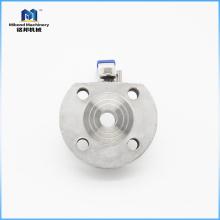 La fábrica proporciona directamente hecho en China la vávula de bola material excelente con el reborde
