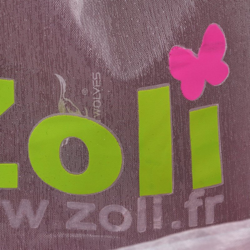 exquisite customized logo colorful organza bag