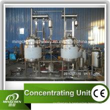 Pasteurisateur de réservoir de veste électrique de chauffage de lait / jus avec le mélangeur