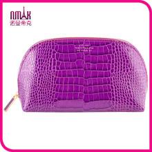 Venta al por mayor marca de piedra de grano PU cuero diseñador cosméticos bolsa de viaje organizador de artículos de tocador bolso de mano