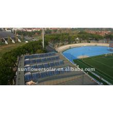 Jiangsu-Integriertes Hochdruck-Verteiler-Wärmerohr Solarwarmwasserbereiter mit SOLAR KEYMARK & SRCC