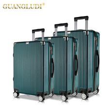 Neue Ankunftskoffergepäcksätze