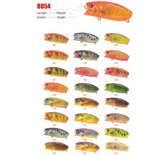 in Stock 60mm 10g Hard Fishing Lure