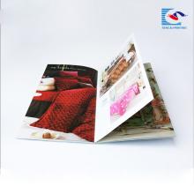 impressão de alta qualidade brochura, impressão de folhetos, revista de capa mole