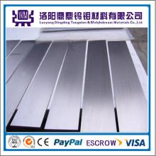 Especializada en 99.95% de planchas / planchas de molibdeno puro pulido de alta pureza o planchas de tungsteno / planchas de mejor precio Molibdeno