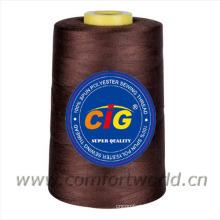 100% Spun polyester sewing thread 40S/3-5000Yds