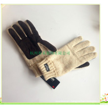 3m Lining Fashion Leather Palm Knitted Glove