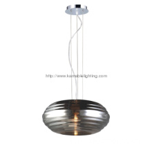 Popular glass single pendant lamp for home light(MD1110S-CH)