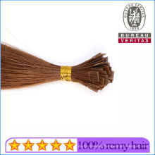 Brazilian Remy Human Hair Kertain Prebonded Flat Tip Hair Extensions