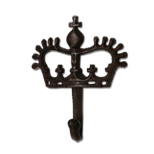 The crown shape of cast iron hook
