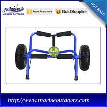 Aluminum cart, Kayak trolley with PU wheels, Foldable canoe trolley