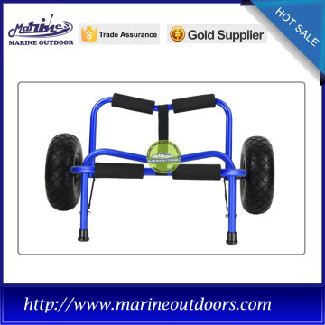Top Quality for Supply Kayak Trolley, Kayak Dolly, Kayak Cart from China Supplier Aluminum cart, Kayak trolley with PU wheels, Foldable canoe trolley export to Andorra Importers