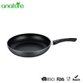 Black Nonstick Handle Riveted Aluminum Cookware Pan