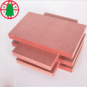 Fire+resistance+MDF+red+color+flame+retardant+mdf