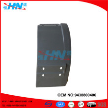 Direct Factory Plastic Mudguard 9438800406 Truck Parts For Actros