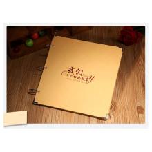 Scrapbook de decoração de papel Kraft marrom para Kits DIY 1253