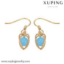 29149 Xuping earring factory china, fashion women hook Earring, arabic golden earring designs for women