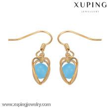 29149 Xuping серьги фабрики Китая, Женская мода крюк серьги, арабские золотые серьги конструкции для женщин
