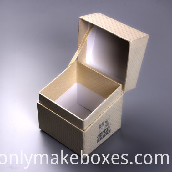 Flip Top Lip Cosmetic Packaging Box For Facial Cream