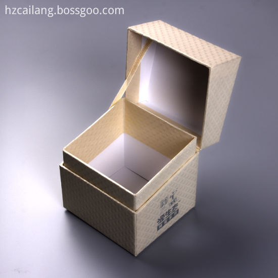 Flip Top Lip Cosmetic Packaging Box For Facial Cream