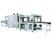 Máquina automática de envasado retráctil para corte de bordes.