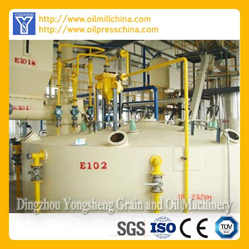 Edible Oil Solvent Extraction Machine