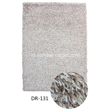 Polyester Narrow Strip Shaggy