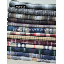 Shirting / literie / grille / tissé / peigné / tissu de flanelle