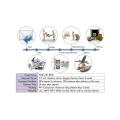 PT-E11 Modelo de Prática de Dente de Dente de Metal para Prática Médica Pré-Operatória