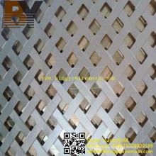 Folha perfurada de alumínio de alta qualidade