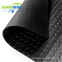 Manufacture Black Vulcanized Rubber Sheet Roll for Truck