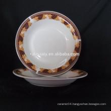 ceramic omega plate deep plate porcelain
