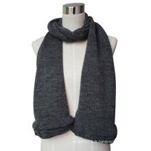 2015 nouvelle écharpe tricotée de laine de Pashmina pour des dames (YKY4377-4)