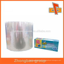 Heat shrinkable pvc plastic film with custom size for mosquito coil