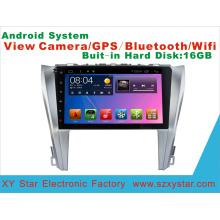 Система Android GPS-навигация Автомобильный DVD для Toyota Camry 10,1-дюймовый сенсорный экран с WiFi / TV / MP4