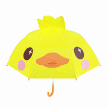 Goods high definition for Best Kids Umbrella,Cartoon Umbrella,Transparent Umbrella,Children Umbrella Manufacturer in China 3D yellow duck kids umbrellla 21 inches export to Lebanon Manufacturers