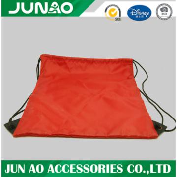 Drawstring backpack denim bag reusable shopping bag