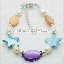 Fashion 2012 Joya Mère de perle perlé à cheville