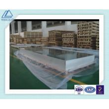 1100 3003 5052 6061 Hoja de pared de cortina de aluminio