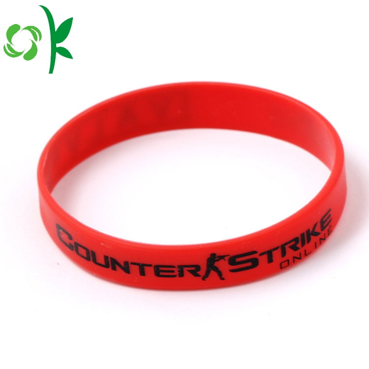Personalized Custom Silicone Bracelet
