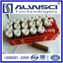 Fabricação 40ML Amber EPA VOA bottle, vidro de borosilicato de frasco de armazenamento